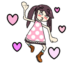 onepi-girl sticker #933444