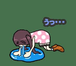 onepi-girl sticker #933451