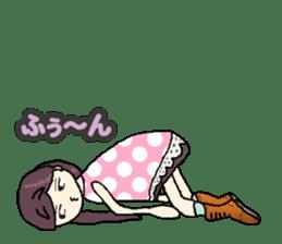 onepi-girl sticker #933452