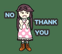 onepi-girl sticker #933454