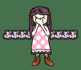 onepi-girl sticker #933455