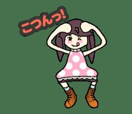 onepi-girl sticker #933456