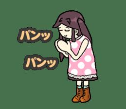 onepi-girl sticker #933458