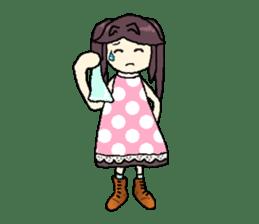 onepi-girl sticker #933459