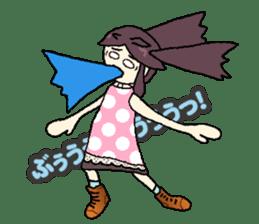 onepi-girl sticker #933460