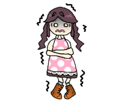 onepi-girl sticker #933461