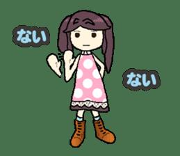 onepi-girl sticker #933466