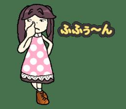 onepi-girl sticker #933468