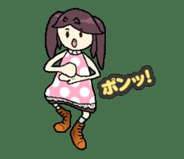 onepi-girl sticker #933469