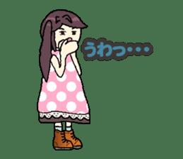 onepi-girl sticker #933470
