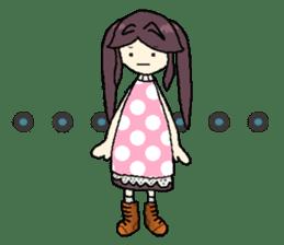 onepi-girl sticker #933471