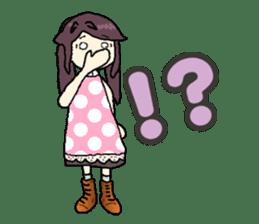 onepi-girl sticker #933474