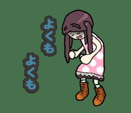 onepi-girl sticker #933475