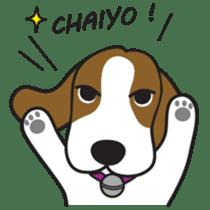 Porjai Beagle Dog sticker #933640