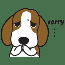 Porjai Beagle Dog sticker #933644