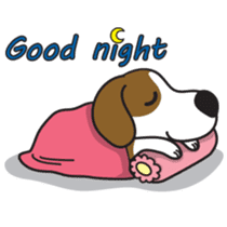 Porjai Beagle Dog sticker #933648