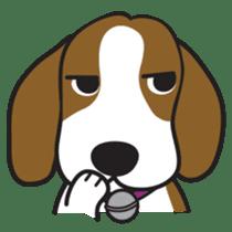 Porjai Beagle Dog sticker #933650