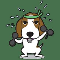 Porjai Beagle Dog sticker #933656