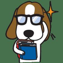Porjai Beagle Dog sticker #933664