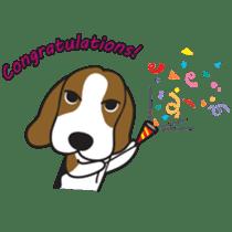 Porjai Beagle Dog sticker #933666
