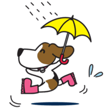 Porjai Beagle Dog sticker #933668