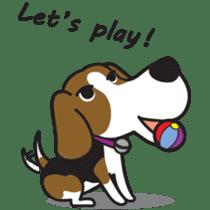 Porjai Beagle Dog sticker #933676