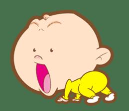 Baby talk goo goo sticker #933760
