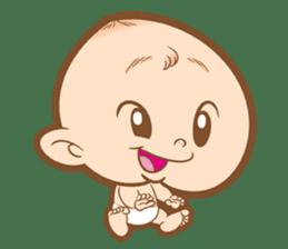 Baby talk goo goo sticker #933762