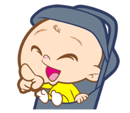 Baby talk goo goo sticker #933763