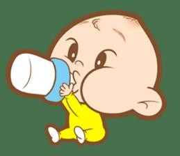 Baby talk goo goo sticker #933764
