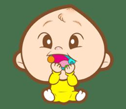 Baby talk goo goo sticker #933767