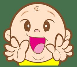 Baby talk goo goo sticker #933772