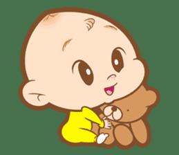 Baby talk goo goo sticker #933776