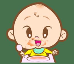 Baby talk goo goo sticker #933779