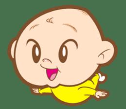 Baby talk goo goo sticker #933781