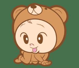 Baby talk goo goo sticker #933782