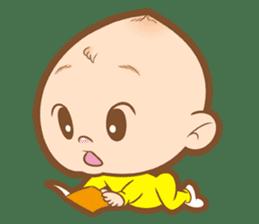 Baby talk goo goo sticker #933786