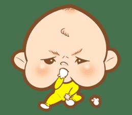 Baby talk goo goo sticker #933787