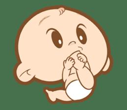 Baby talk goo goo sticker #933794