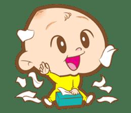 Baby talk goo goo sticker #933797