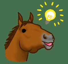 Horses Sticker sticker #934041