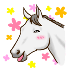Horses Sticker sticker #934042