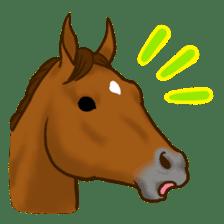 Horses Sticker sticker #934044