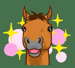 Horses Sticker sticker #934045
