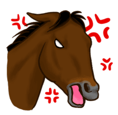 Horses Sticker sticker #934046