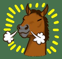 Horses Sticker sticker #934047