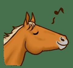 Horses Sticker sticker #934048