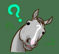 Horses Sticker sticker #934049