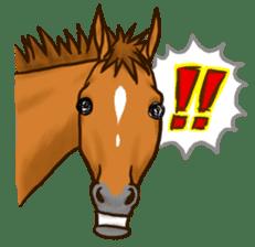 Horses Sticker sticker #934050