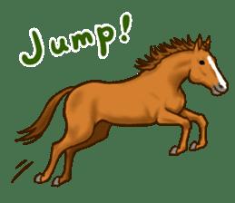 Horses Sticker sticker #934054